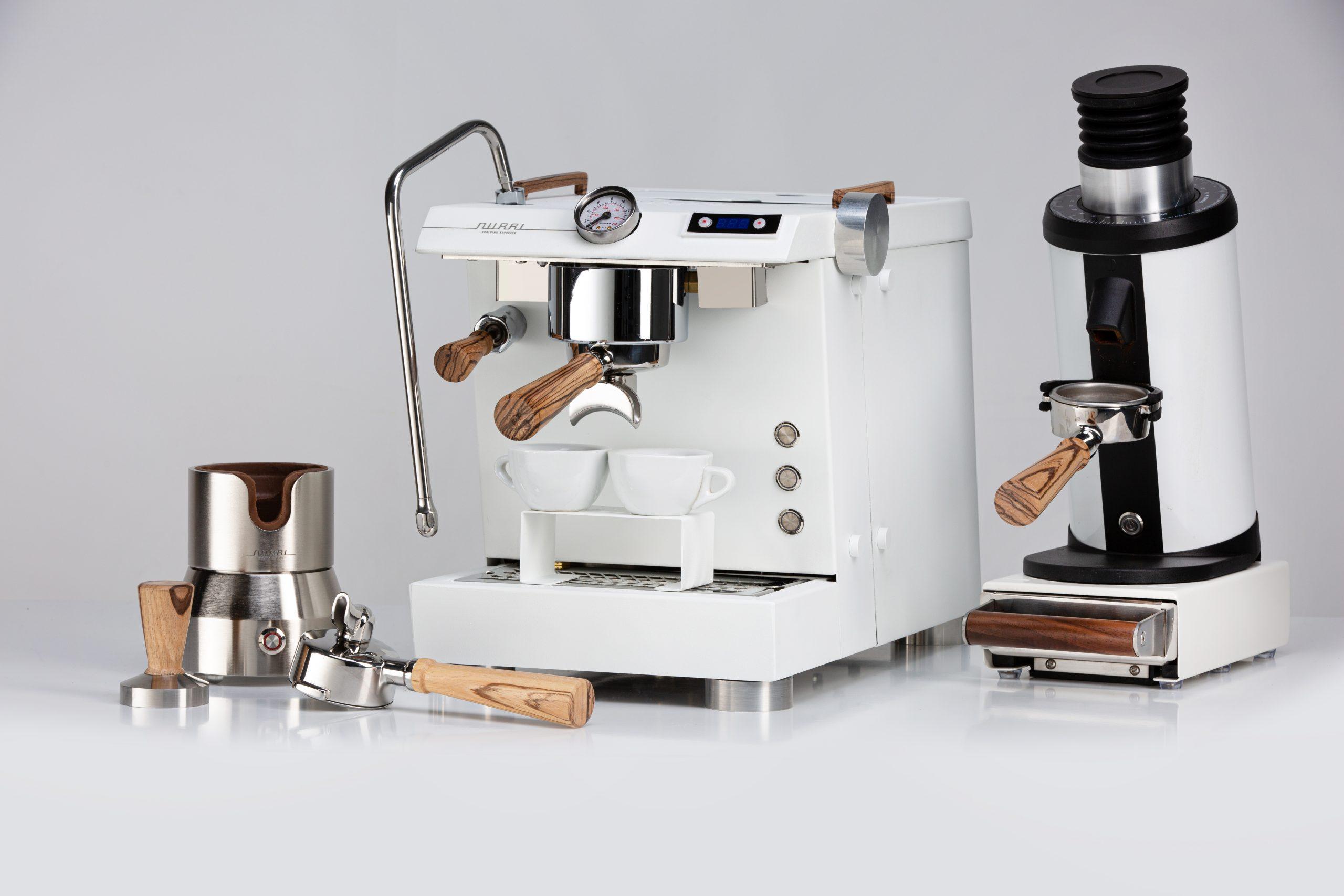 Nurri GTO espresso machine white vdt