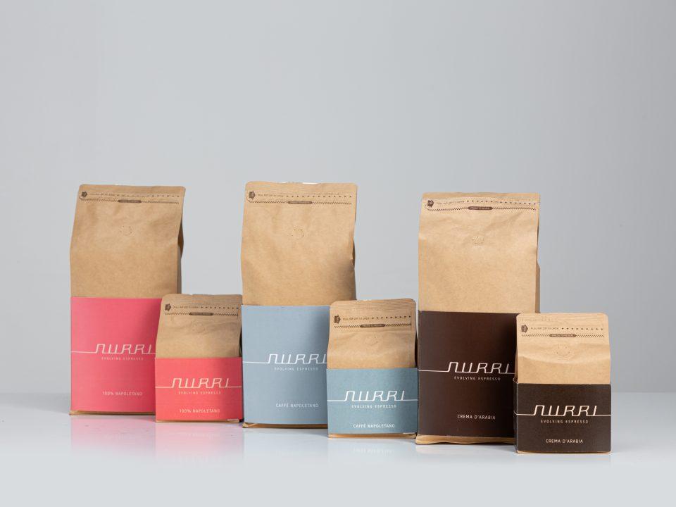Nurri coffee blends all packs