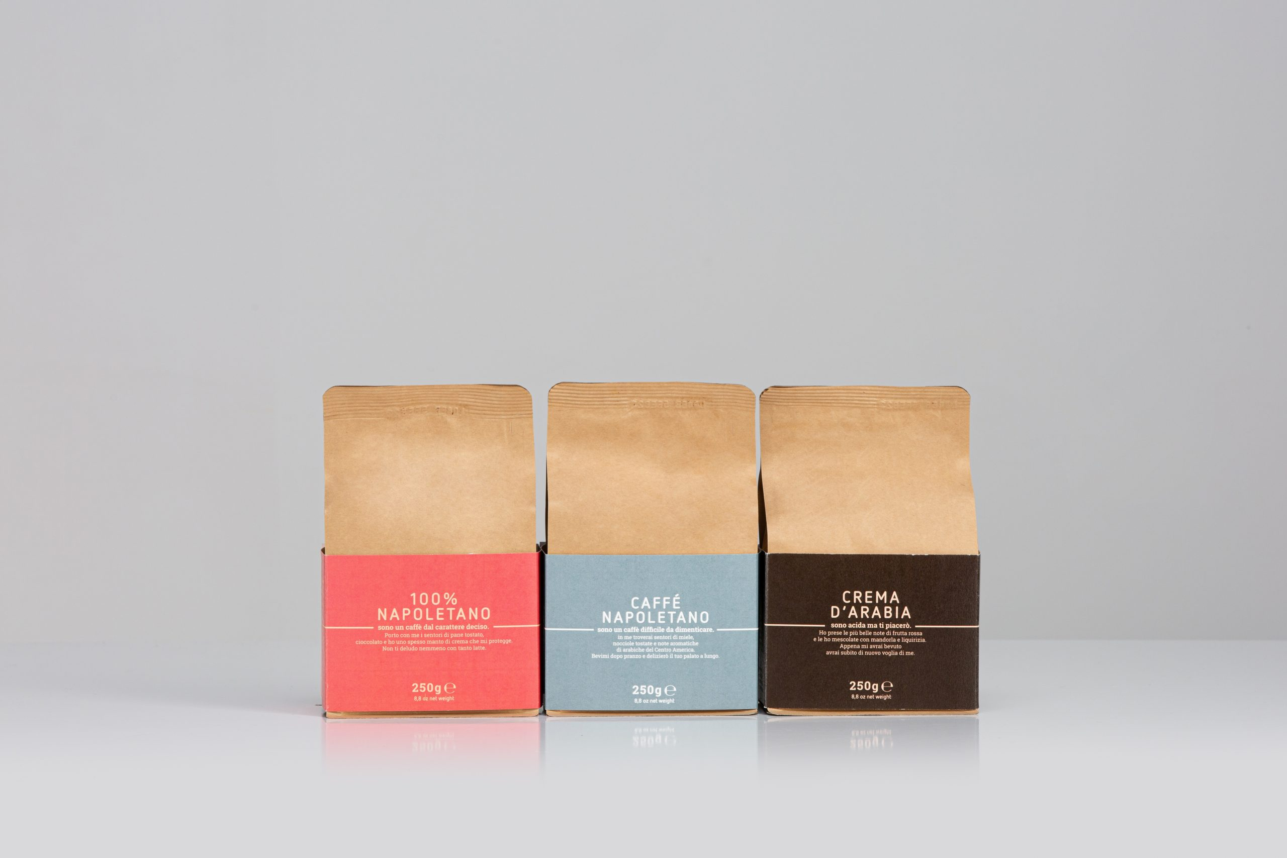 Nurri coffee blends napoletano arabia 250g