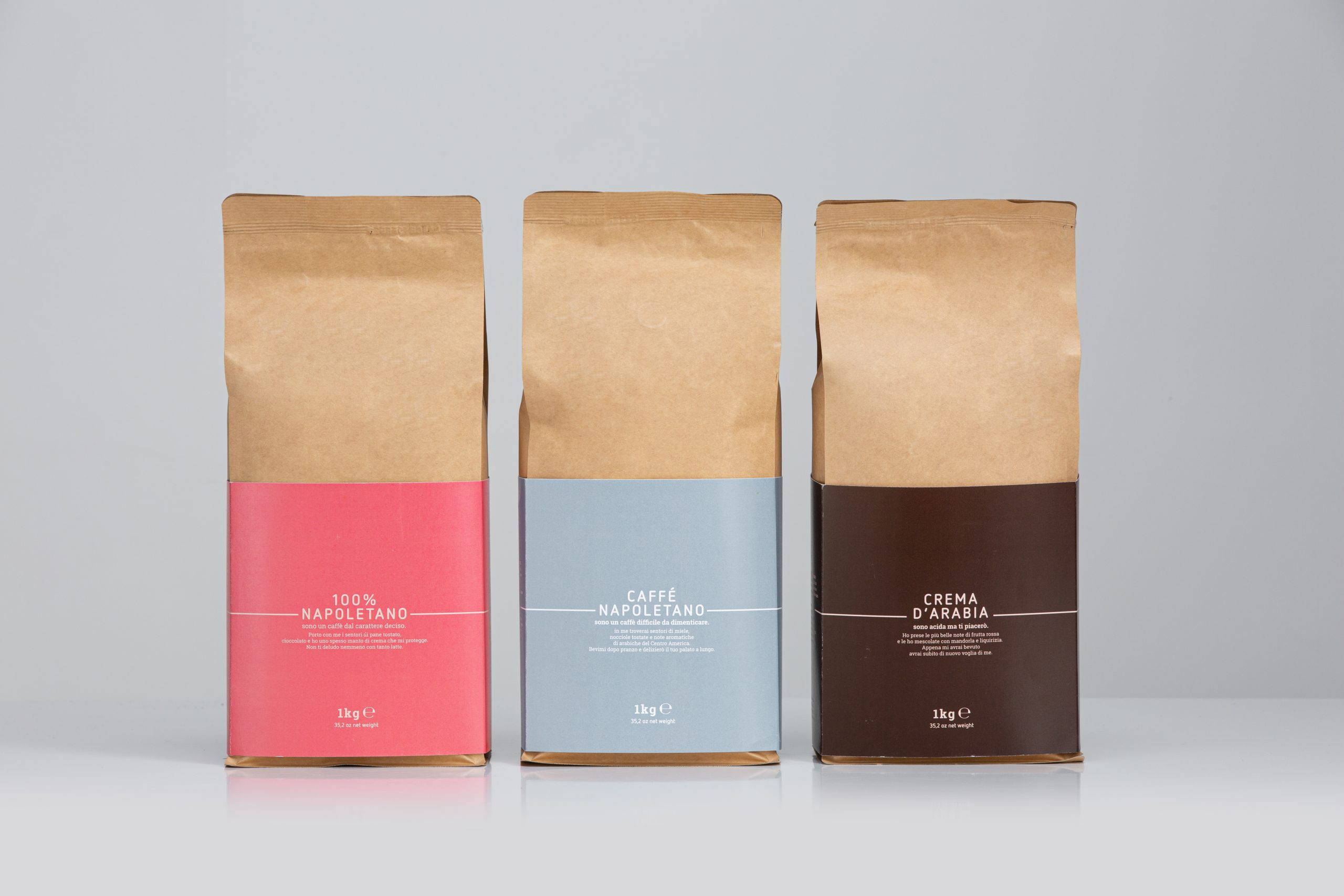 Nurri coffee blends napoletano arabia 1kg